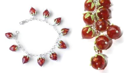 Bracelet fraises 54 €